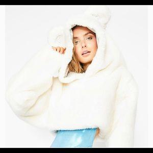 PLUSH Polar Bear Hoodie